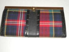 Buxton Expandable Plaid Clutch, Framed Wallet