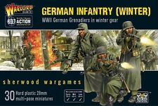 28mm Warlord Games German Infantry Winter Uniforms, for Bolt Action WW2 BNIB