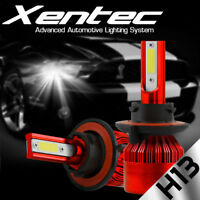 XENTEC LED HID Headlight kit H13 9008 White for 2008-2008 Ford E-350 Econoline