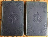 1858 1st. Ed. 1st. Issue. / THE VIRGINIANS / Thackeray / Original cloth