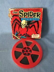 SUPER-8-FILM THE SPIDER SPINNE MONSTER TRASH B-MOVIE INTERNFILM TIERHORROR KEN