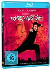 ROMEO MUST DIE (2000) - Jet Li, Aaliyah, Isaiah Washington NEW BLURAY ALL REGION