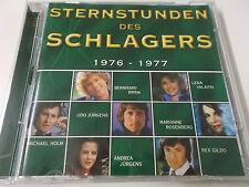 37631 - STERNSTUNDEN DES SCHLAGERS 1976-1977: 2002 TIME LIFE 2CD SET (DSC/04)