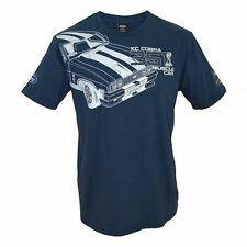 Ford Falcon XC Cobra Snake Mens Navy Printed Short Sleeve T Shirt Size M
