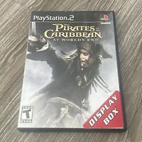 Pirates of the Caribbean At Worlds End PS2 Sony PlayStation 2 Complete
