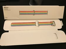  OEM Genuine Apple Watch Pride 2018 Woven Nylon Band 42mm 44mm Free Shipping