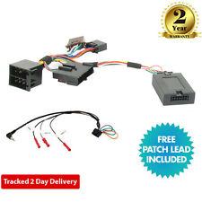 CTSRN 002 Volante Control Tallo Cable Adaptador Para Renault Kangoo Clio,