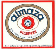 altes Bieretikett 1989+ Almaza LIBANON Amstel *Ü55