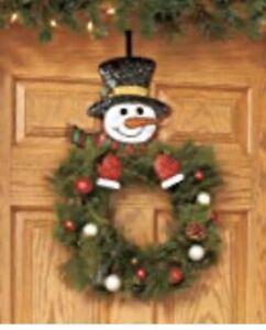 Snowman wreath Hanger