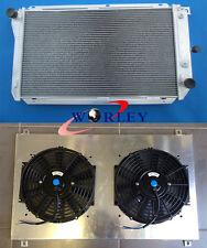 For Ford EF EF2 EL NF NL DF/L FALCON fairline Aluminum Radiator + Fan Shroud