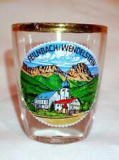 Schnapsglas Feilnbach Rosenheim Bayern Wendelstein Andenken Stamperl shot glass