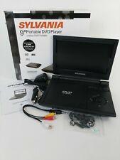 "Sylvania  9""  Portable DVD Player W/ Car Kit"