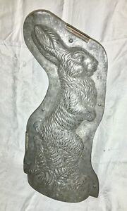 Vintage T.C. Weygandt Co Anton Reiche HUGE bunny CHOCOLATE MOLD Germany 22""