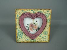 Floral Garden Wood Photo & Picture Frames