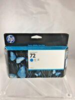 New Genuine HP 72 CYAN C9371A Ink Cartridge 130ml  Expired 6/17 *Fast Ship* C13