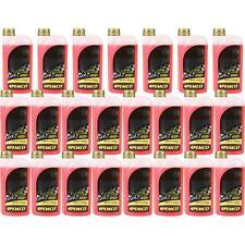 23x1 Liter PEMCO Kühlerfrostschutz Antifreeze 912+ rot red KÜHLMITTEL -40°C