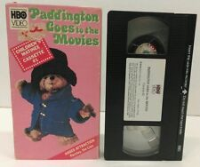 """The Adventures of Paddington Bear""""Goes to the Movie"""" VHS 1986 - puppet animation"""