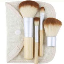 Good 4/Lot Foundation Powder Brush Earth-Friendly Bamboo Cosmetic Makeup Tool