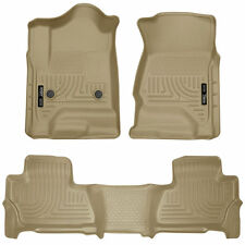 Husky Liners 2015-2017 Chevy Tahoe GMC Yukon Floor Mats Front Rear TAN 99203