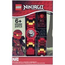 NEW LEGO Childrens Ninjago Time Twins Kai Minifigure watch Perfect for boy