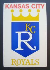1973 Kansas City Royals Fleer Baseball Big Sign MLB