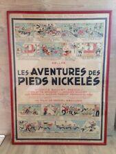 Affiche Ancienne Les Pieds Nickelés 1947