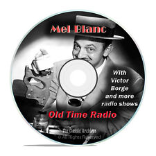 Mel Blanc, 672 Old Time Radio Sitcom Stand Up Comedy Variety Shows mp3 DVD G67