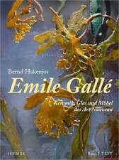 Fachbuch Emile Gallé, Keramik Glas und Möbel des Art Nouveau, 2 BÄNDE, NEU