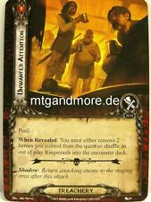 Lord of the Rings LCG  - 2x Unwanted Attention  #054 - The Black Riders