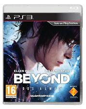 BEYOND 2 DOS ALMAS TWO SOULS EN CASTELLANO NUEVO PRECINTADO PS3