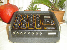 Multivox VM44 Premier Express Four, 4 Ch Mixer Power Amp, Spring Reverb, Vintage