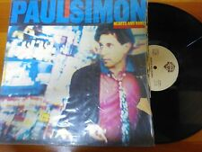 DISCO LP 33 GIRI PAUL SIMON HEARTS AND BONES WB RECORDS 1983 VG+/GD