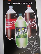 Halloween bottle labels ,creepy crawley,dr dracula,spirits of the dead set of 3