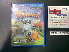 LITTLE DEVIANTS PSVITA PLAYSTATION VITA PAL NUOVO SIGILLATO