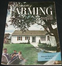 THE BUSINESS OF FARMING MAGAZINE SUMMER 1951 FARM HOME