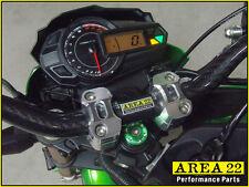 Area 22 Kawasaki Pro Z125 2016 - 2017 CNC Aluminum Steering Stem Cap Cover Green