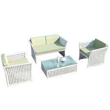 Garten-Tische & Stuhl-Sets mit bis zu 4 Sitzplätzen aus Polyrattan