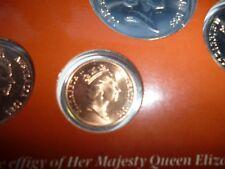 1986 Australia One 1 Cent Coin Ex Mint Set - Specimen Coin