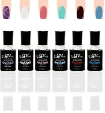 UV-Nails Lot of 6 UV LED Gel Polish Bottles Salon Quality 15mL UV6-010