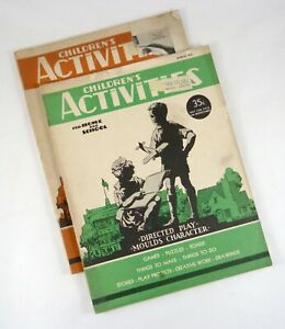Children's Activities for Home and School Sep 1937 Mar 1939 Child Training Assoc