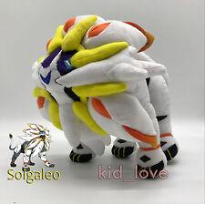 "Pokemon Sun/Moon Solgaleo #791 Plush Legendary Pokemon Soft Toys Doll Teddy 9"""