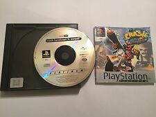 PS1 PLAYSTATION 1 PSone GIOCO CRASH BANDICOOT 3 III DEFORMATO