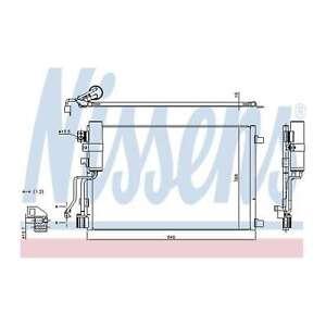 Fits Nissan Qashqai 1.5 dCi Genuine OE Quality Nissens A/C Air Con Condenser