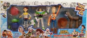 Toy Story Woody Bullseye Buzz Lightyear Jessie 5 Action Figure 16cm Pack