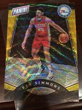 2017 Panini National Convention Gold Pack VIP Ben Simmons Prizm Gold 3/15