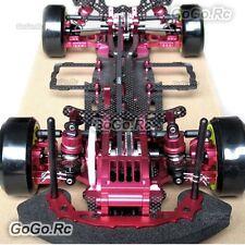 Carbon Aluminium Kit 1/10 4WD Drift Racing RC Car SAKURA D3 3R Front Motor