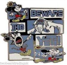 Disney Pin: WDW Mickey Beware of the Yeti (New On Card)