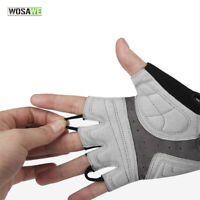 Cycling Gel Riding Half Finger Gloves Antiskid Fingerless MTB Bike Glove Mitts