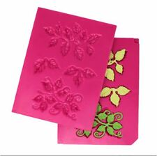 Heartfelt Creations Tool ~ 3D Leafy Accents Shaping Mold Leaves ~ Hcfb1-467