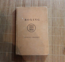 Boxing  by Edwin L. Haislet - 1940 *Rarity* / Bruce Lee Jeet Kune Do